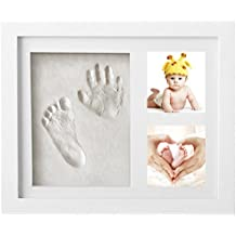 Marco de Fotos para Bebé - Newlemo 3D Marco de Huellas para Niños - Regalos para