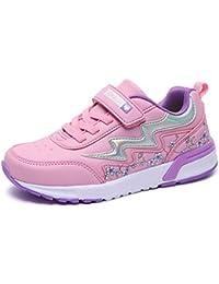 fee2f28efe4 Niñas Zapatillas de Deporte para niños Zapatos cómodos Casuales Deportes  para niñas Calzado Deportivo Escuela Moda