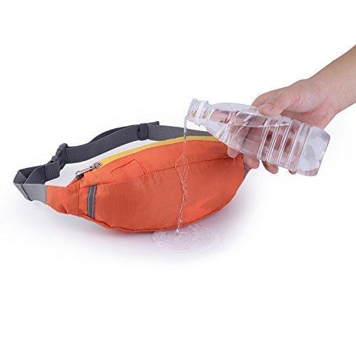 OUTAD sportiche Gürteltasche, Hüfttasche regendicht Orange