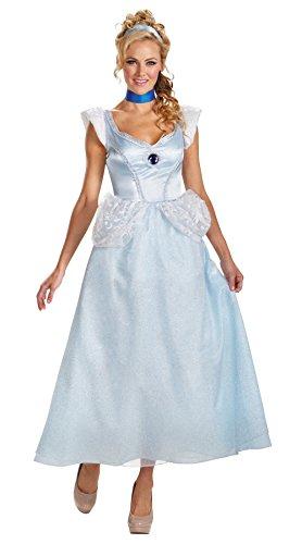 Cinderella Deluxe Adult 18-20 (Adult Deluxe Cinderella Kostüm)