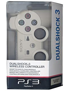 Manette PS3 Dual Shock 3 - blanche (B003UESJRE) | Amazon price tracker / tracking, Amazon price history charts, Amazon price watches, Amazon price drop alerts