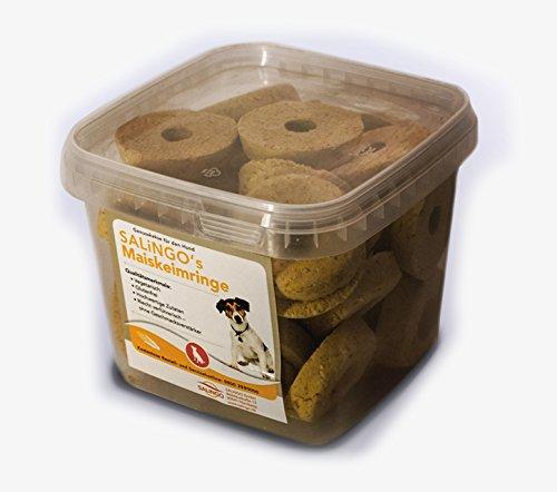 SALiNGO Hundekeks - Maiskeimringe, vegetarisch, 500g