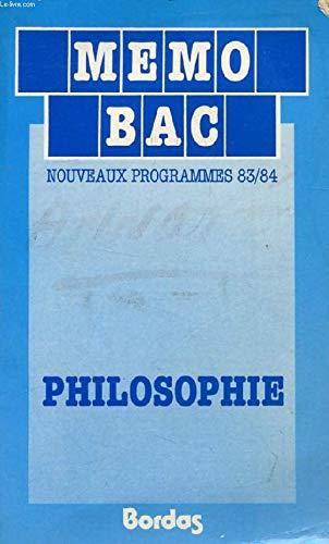 Philosophie terminales C, D, E