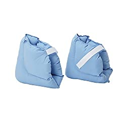 DMI Soft Comforting Heel Protector Pillows One Pair Blue