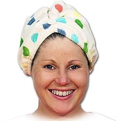 Microfibra toalla del pelo...