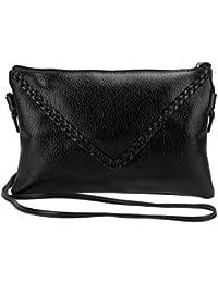 PU Leather Designer Small Bag Women Messenger Bag Zipper Crossbody Bags Women Vintage Clutch Ladies Purse For...