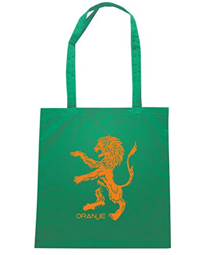 T-Shirtshock - Borsa Shopping WC0508 NETHERLANDS T-SHIRT - ORANJE Verde