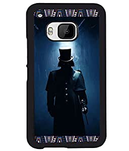 PRINTVISA Don Premium Metallic Insert Back Case Cover for HTC One M9 - D5758
