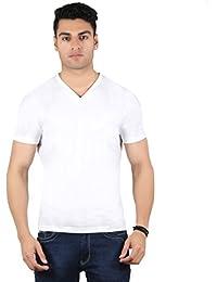 Diaz Soft Cotton V-Neck T-Shirt For Men