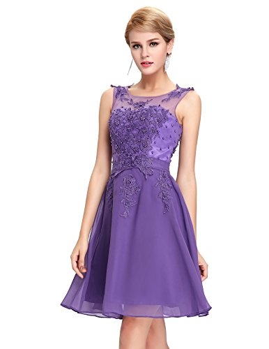 Damen Ballkleid Abiballkleid Swing Kleid 44 GK063-6