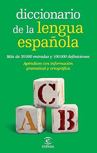 Diccionario de la lengua española Bolsillo (DICCIONARIOS LEXICOS) por Espasa Calpe