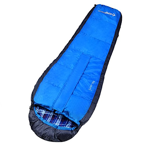 kingcamp-junior-boy-children-camping-hiking-sleeping-bag-blue