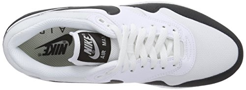 Nike - Air Max 1 Essential, Sneakers da donna White/Black-Metallic Silver