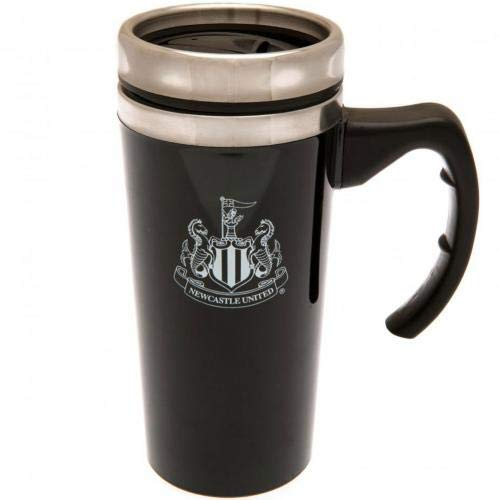 Newcastle FC Travel Mug Hot/Cold Drinks Logo Official Coffee Gift Fan