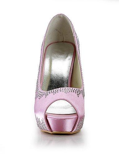 WSS 2016 Chaussures de mariage-Bleu / Rouge / Blanc / Beige-Mariage / Habillé / Soirée & Evénement-Talons / Bout Ouvert-Talons-Homme 4in-4 3/4in-beige