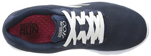Skechers Go Run 400, Chaussures de Sport Femme bleu (NVW)