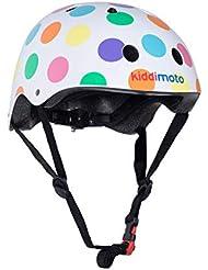 Kiddimoto - Dotty S Casco para niños (KMH023S) , Modelos/colores Surtidos, 1 Unidad