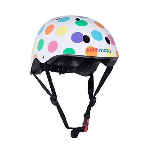 Kiddimoto Kids Helmet - Pastel Dotty, 53-58 cm