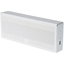 Xiaomi Square Box 10 Horas Bluetooth 4.0 Manos libres estéreo portátil Wireless Mini Bass altavoz blanco de aluminio para Xiaomi iPhone Android Teléfono