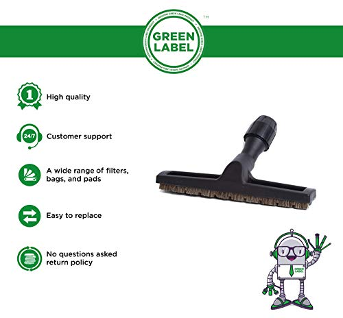 Zoom IMG-1 green label spazzola pavimenti duri