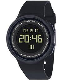 Pasnew-446 Les Enfants garçons ou Filles Montres Sport Montres avec Alarme chronomètre numérique multifonctionnelle des Montres - Bracelets