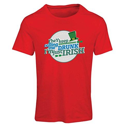 Maglietta Donna Sono solo irlandese - il divertente abbigliamento da giorno di St Patty, i detti di San Patrizio Rosso Multicolore