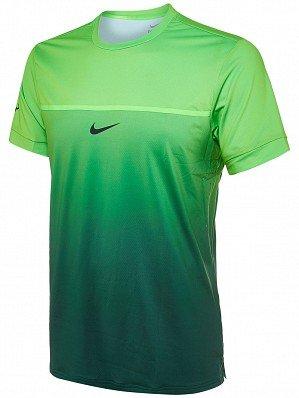 "Herren Tennisshirt ""Challenger Premier Rafa Crew Gradient"" Kurzarm"