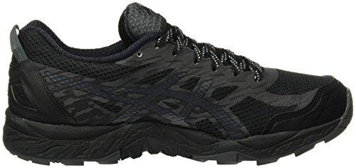 Asics Gel Fujitrabuco 5 Gtx, Scarpe da Trail Running Uomo Multicolore (Black / Dark Steel / Silver)