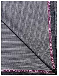 fd1503bd6 Raymond Super 90 s ( 50%) Merino Wool With Fine Silk Blended Unstitched  Trouser Fabric
