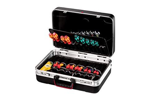 Prarat Werkzeugkoffer SILVER Plus - 2 Schlüssel, 1 Längssteg, 3 Querstege, 48x35x18cm - 533.000.171 (ohne Inhalt)