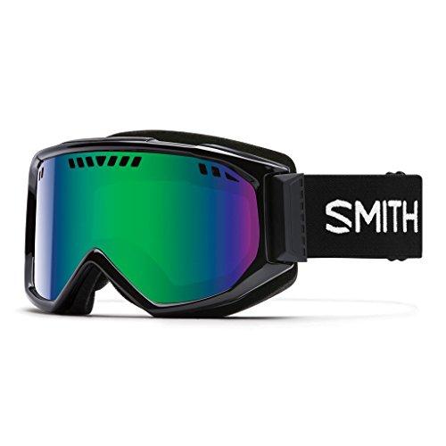 Smith Erwachsene Skibrille Scope Pro Grün Sol-X Mirror/Schwarz, One Size