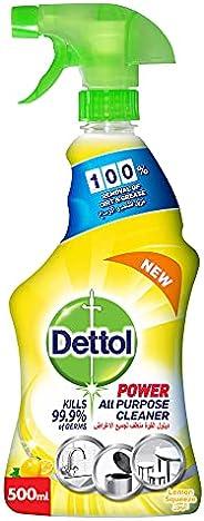 ديتول- منظف لجميع الاغراض لمنزل صحي برائحة الليمون 500 مل