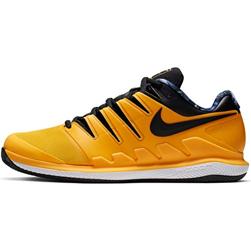Nike Air Zoom Vapor X Cly, Chaussures de Tennis Homme, Multicolore (University GoldBlackWhiteVolt Glow 700), 43 EU
