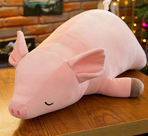 Generic Unten Baumwolle liegen Schwein Plüsch Spielzeug kleine Pulver Schwein Puppe Snare Kissen - Pulver-liege