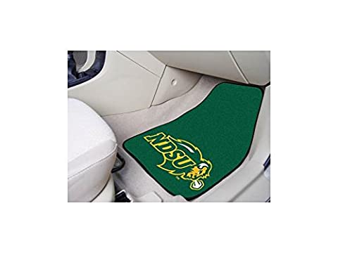 Fanmats 05286 North Dakota State University 2 Piece Front Car Mats