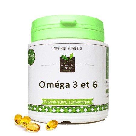 Oméga 3 et 6 capsules50 capsules