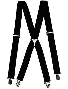 Glamexx24 Bretelle super elastiche per pantaloni , cintura comoda per qualsiasi et¨¤ in diversi colori
