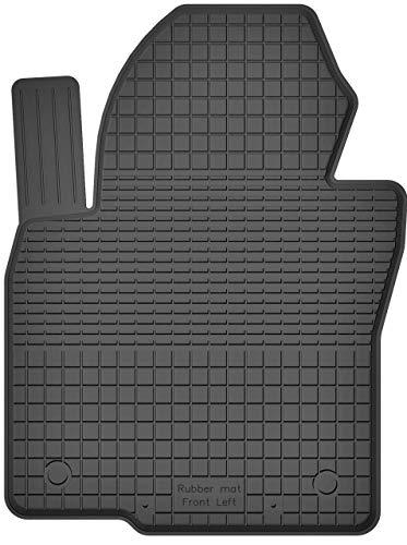 KO-RUBBERMAT 1 Stück Gummimatte Fußmatte Fahrer geeignet zur VW Golf V VI Plus (Bj. 2003-2013) ideal angepasst - 2013 Golf-fahrer