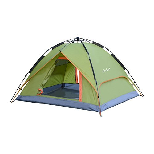 Ohuhu 3 Person Tent with Carry Bag - Windproof Waterproof and UV-proof Beach Tent 96.5  x 57  x 43.3   sc 1 st  Desertcart & Frame Tents u003e Tents u003e Camping And Hiking u003e Sports And Outdoors ...