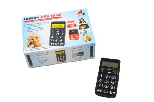 TV Das Original Großtasten-Handy mit integriertem Radio schwarz