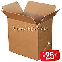 15 piezas cajas cartón doble capa ultra resistentes 60 x 40 ...