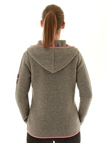almgwand Veste en tricot - hellgraumelange