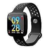 Ruiren Frauen Smart Fitness Tracker, Herzfrequenz/Blutdruck / Blutsauerstoffmonitor, Schrittzähler Activity Tracker Smart Armband, Schlaf Monitor, Kalorienzähler, Sport Smartwatch mit Wecker