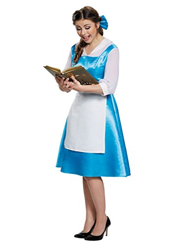 Adult Belle Blue Dress Small
