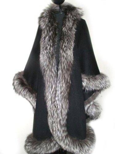 black-loro-piana-17-ounce-cashmere-cape-w-indigo-fox-border