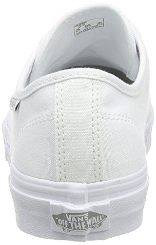 Vans Camden Stripe, Baskets Basses Femme Blanc (Canvas/White/White)
