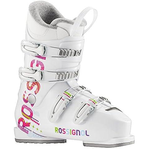 Scarpe da sci Rossignol Fun J4 Girl, colore: bianco - 25 Scarponi Da Sci