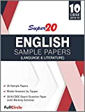 Super20 English Language and Literature Sample Papers Class 10th CBSE 2018-19
