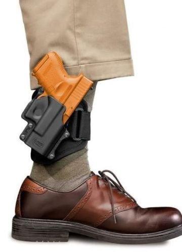 Fobus Ankle Holster dissimulée carry cheville jambe Étui pour pistolet pour H&K USP Compact 9mm, .40/.45 cal