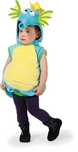 Kind Seepferdchen Kostüm - Wilbers Kinder Kostüm süßes Seepferdchen Karneval Fasching Gr.80